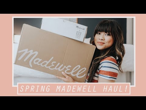 HUGE MADEWELL HAUL - Spring Clothes!