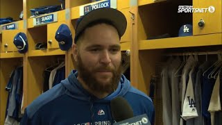 Russell Martin, Dave Roberts and Andrew Friedman Interview   Dodgers Spring Training 2019
