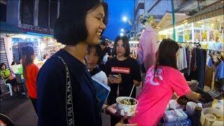 Thai food in Nakhon phanom Walking Street - Asian street food