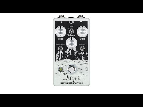 EarthQuaker Devices Dunes Mini Mega Overdrive Pedal