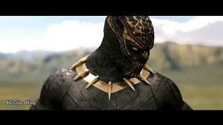 Black Panther Vs Golden Jaguar (Fight Scene) (HD)