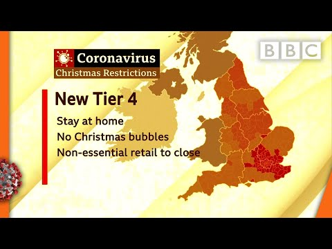 Covid-19: Millions in England and Wales go into toughest restrictions ? @BBC News live - BBC