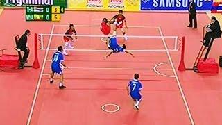 Thailand - Myanmar SepakTakraw 27th SEA Games 2013