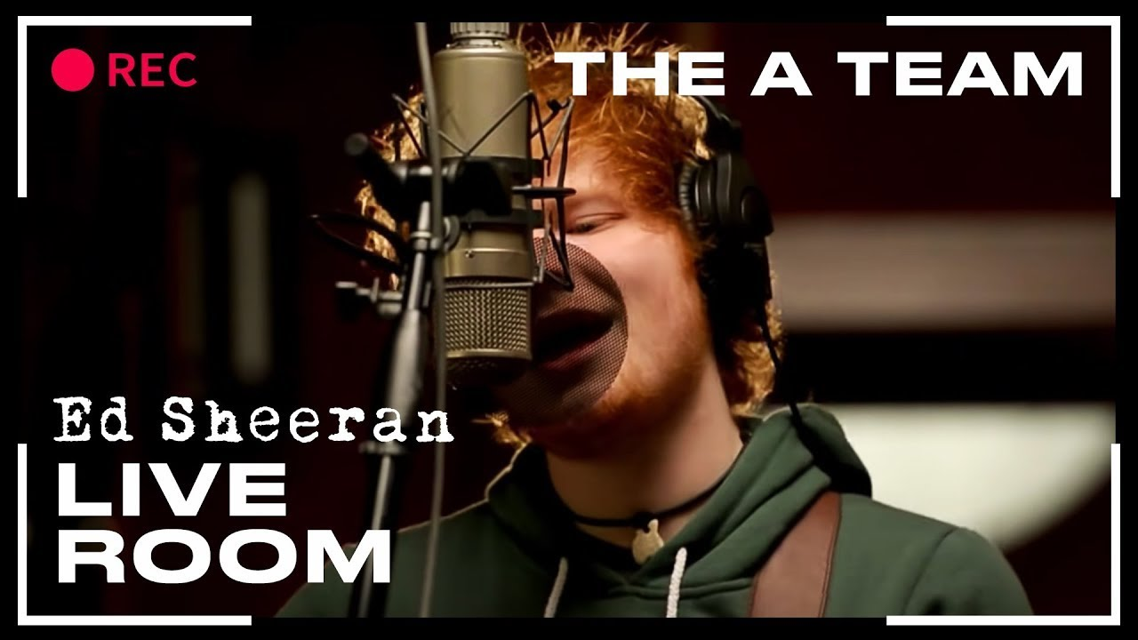 ed sheeran in the live room ed sheeran quot the a team quot captured in the live room 24241