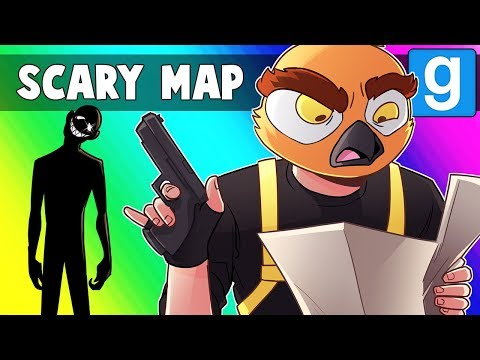 Gmod Scary Map Funny Moments - Leon's Museum of Mazes and Memes!