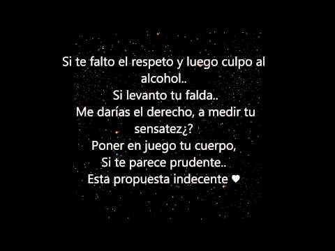 Romeo Santos - Propuesta Indecente (Lyrics)