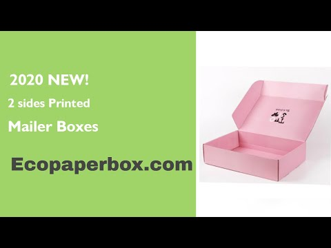custom mailer boxes from China