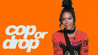 Rico Nasty Reacts to a $25K Cookie, $500 Gucci Ear & $500K Rolex | Cop or Drop