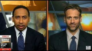 ESPN First Take Live 2/8/18 - Today Stephen A. Smith vs Max Kellerman & Molly Qerim