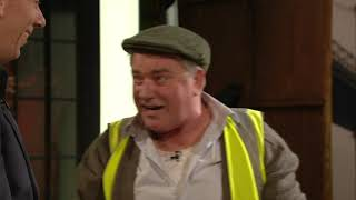 Pat (Pat Shortt) The Plumber Disrupts The Late Late Show!