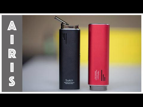 video Airis Switch Herbal Vaporizer
