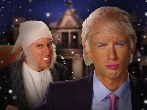 Donald Trump Vs Ebenezer Scrooge.  Epic Rap Battles Of History Season 3. - Smashpipe Entertainment