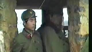 The Chinese PLA 24 Group Army 11 Reconnaissance Brigade in Vietnam battlefield  captures captives