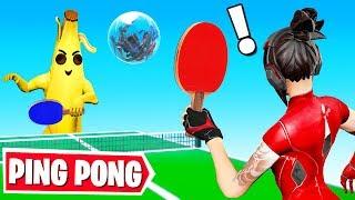 Playing PING PONG in Fortnite Creative! *NEW* Custom Gamemode