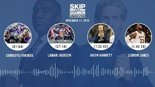 Cowboys/Vikings recap, Lamar Jackson, LeBron James | UNDISPUTED Audio Podcast