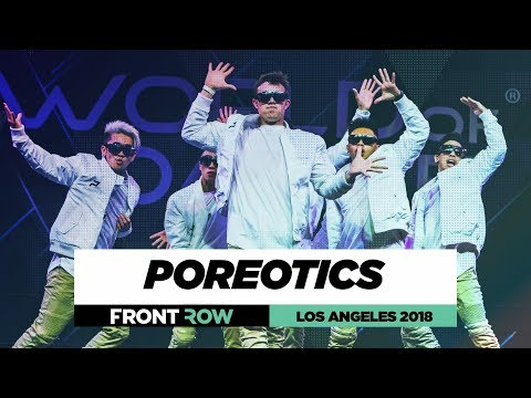 Poreotics    FrontRow   World of Dance Los Angeles 2018   #WODLA18