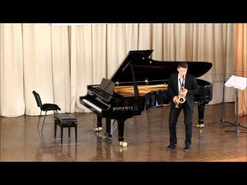 GOLDEN SAXOPHONE 2015. Daniil Dovbysh. P. Bonneau, Caprice en forme de valse