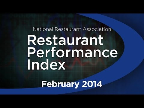 The National Restaurant Association's Hudson Riehle provides an update on the January Restaurant Performance Index and other economic indicators. Visit http://www.restaurant.org/research for all the latest restaurant industry news and insights.