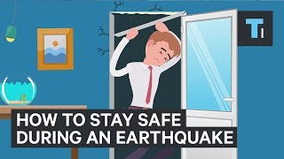 Here's where you should really go to stay safe during an earthquake