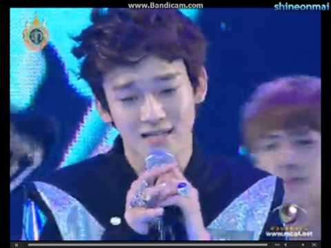 EXO Chen's perfect high note LIVE