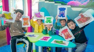 Kids Go to School Learn Colors with Fashion Baby! Children Learn Colors Finger Family Song