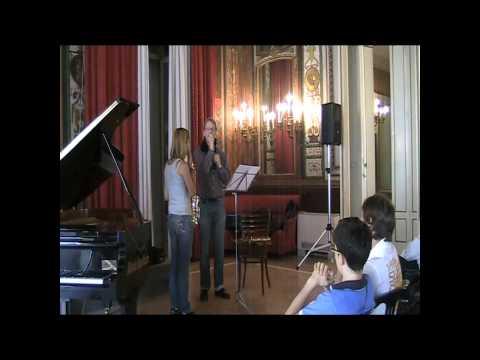 Arno Bornkamp masterclass at Casino Sociale Demersseman Fantaisie sur un Thème Original