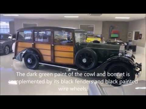 video 1926 Rolls-Royce Phantom I Shooting Brake