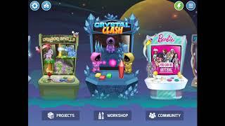 Playing Crystal clash