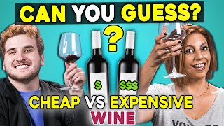 Can People Guess Cheap vs. Expensive Wine? | People vs. Food