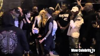 """Tyga gives Kylie Jenner a Ferrari for Her Birthday """"FULL"""""""