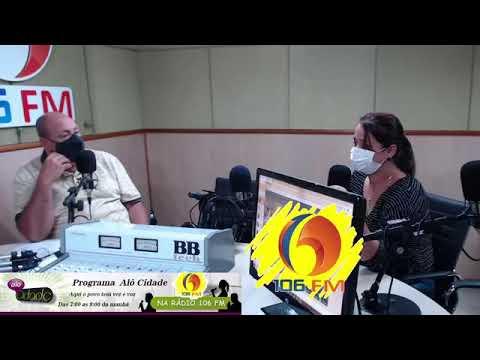 Covid-19: Secretária de Saúde de Guanambi concede entrevista ao radialista Clovis Junior