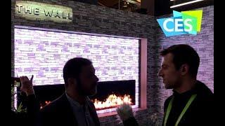 Samsung Modular Wall TV - CES 2018