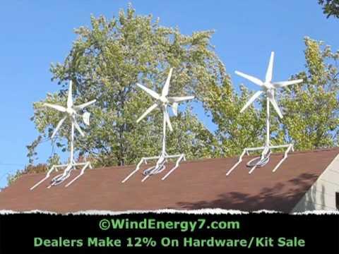 Roof Mount Wind Turbine Youtube