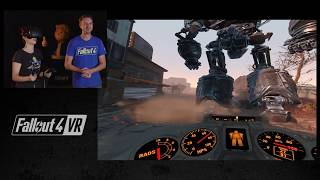 Fallout 4 VR - Video gameplay per la versione HTC Vive