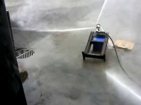 Scale-Tron High Pressure Mixer Washout in action