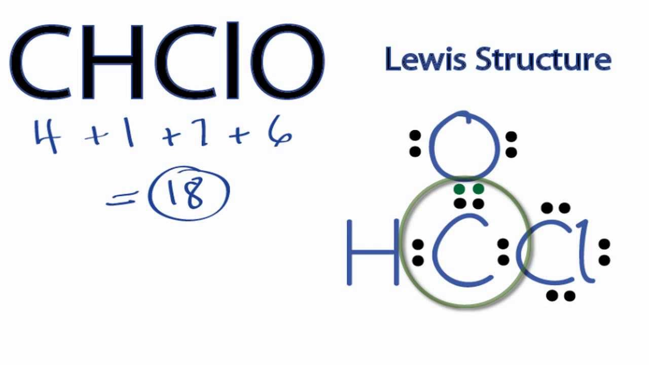 CHClO Lewis Structure: How to Draw the Lewis Structure for ...