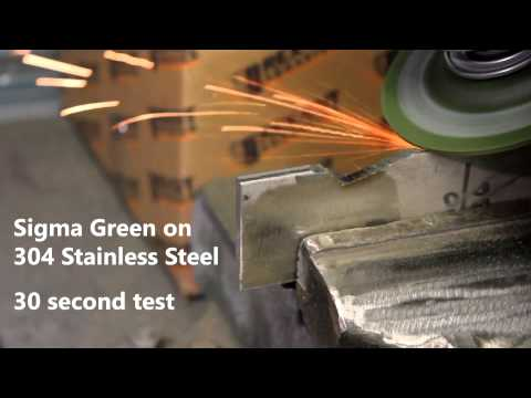 Sigma Green - Aggressive Grinding Wheels