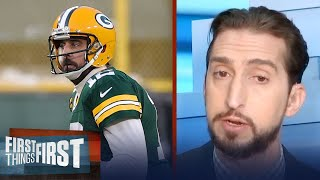 If Green Bay moves on from Rodgers, they'll need a QB in return — Nick | NFL | FIRST THINGS FIRST