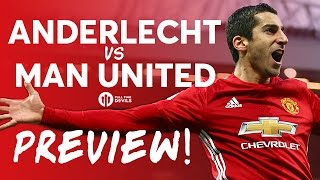 Anderlecht vs Manchester United | LIVE PREVIEW