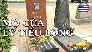 🇺🇸Thăm mộ Lý Tiểu Long - Bruce Lee's Grave | Nghĩa trang ở Mỹ Seattle, WA | Quang Lê TV #105