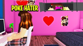 I Snuck Into A HATER'S HOME.. She Secretly Loved My Videos.. (Roblox)