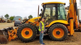 The Tractor broken down Funny Max Ride on POWER WHEEL Tractor to help man