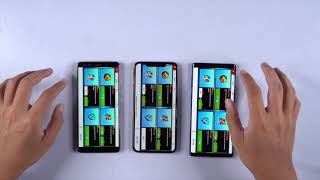 Test tốc độ iPhone Xs Max, HTC U12+ và Note9