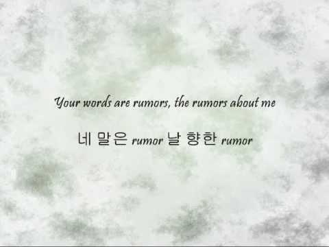 DBSK - Rumor [Han & Eng]