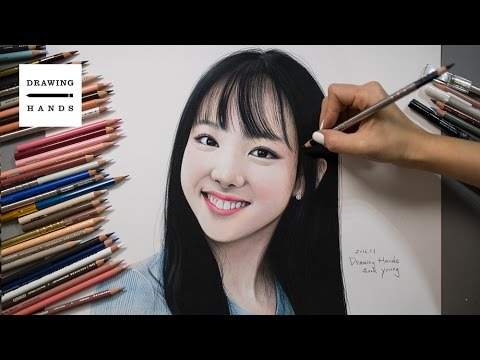 Speed Drawing TWICE - Nayeon [Drawing Hands]