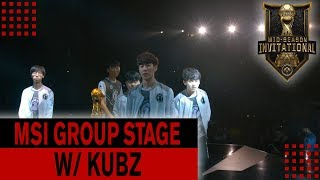 MSI Group Stage Recap w Kubz - Invictus Gaming Hunt for Perfection | ESPORTS IN 30