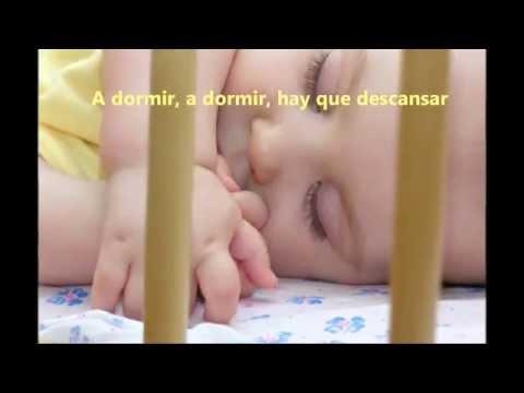 letra cancion nana bebe: