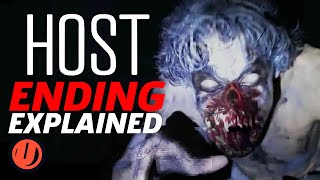 Host (2020) Ending Explained, Easter Eggs & Movie Breakdown