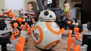Nerf War: BB8 Strikes