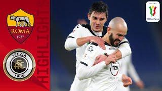 Roma 2-4 Spezia | Saponara Seals Victory In Extra Time | Coppa Italia 2020/21